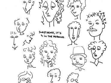 Sketchbook – Faces