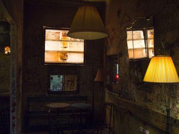 A Ruin Pub in Budapest