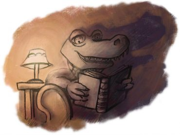 The Alligator who loved fairytales