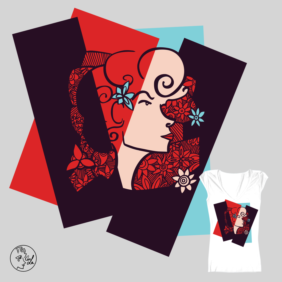 Cubism for Threadless Challenge