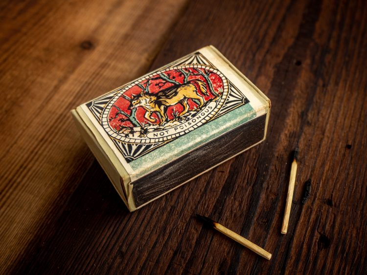 Victorian Matchbox