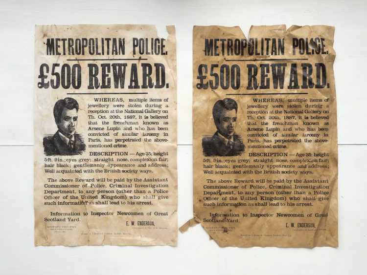 Victorian Wanted Poster